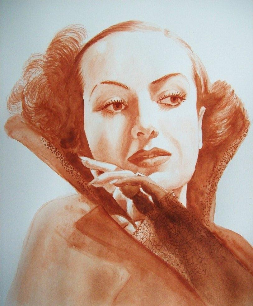 Joan Crawford par Tom-Heyburn